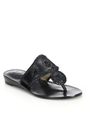 jack rogers female capri leather midwedge sandals