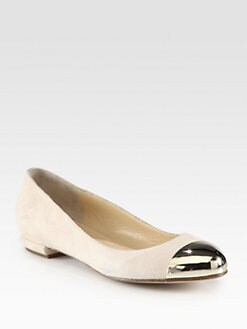 Marvin K - Angela Suede & Metal Ballet Flats