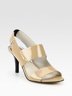 MICHAEL MICHAEL KORS - Rochelle Patent Leather Sandals