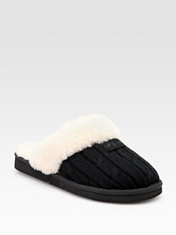 UGG Australia - Cozy Knit Wool Scuffette Slippers