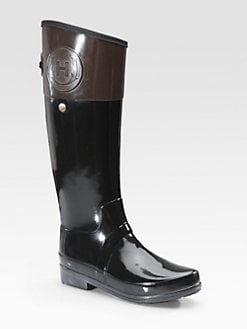 Hunter - Regent Carlyle Two-Tone Rain Boots