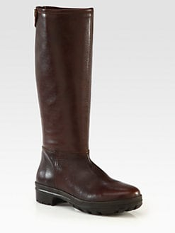 Hunter - Keric Leather Knee-High Boots