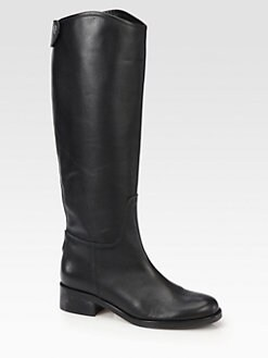 Hunter - Leather Knee-High Riding Boots