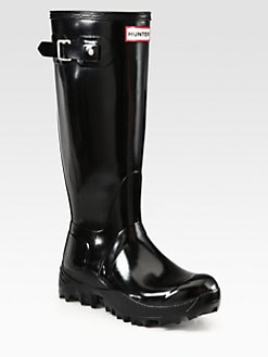 Hunter - Gloss-Finish Snow Boots