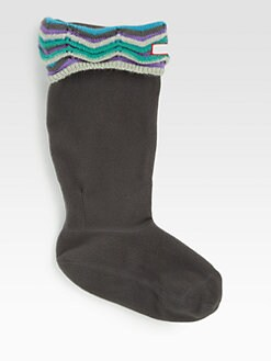 Hunter - Zig Zag Fleece Sock Liners