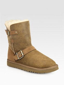UGG Australia - Classic Short Dylyn Suede Boots