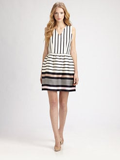 Raoul - Striped Silk/Cotton Dress