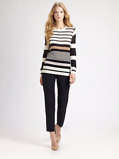 Raoul - Striped Silk/Cotton Sweater