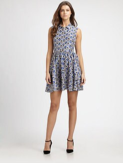 Kate Spade New York - Lora Silk Fit-&-Flare Dress