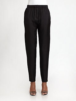 Halston Heritage - Silk Twill Pants