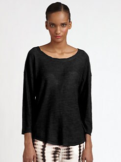 Halston Heritage - Shirttail Sweater