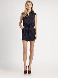 Raoul - Silk Short Jumpsuit