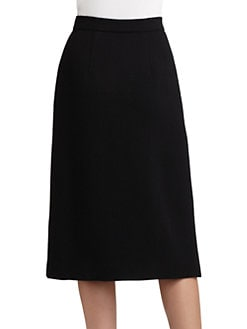 Raoul - Wool Zipper Skirt