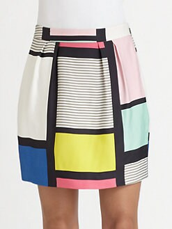 Kate Spade New York - Barry Colorblock Skirt