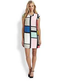 Kate Spade New York - Claudette Colorblock Dress