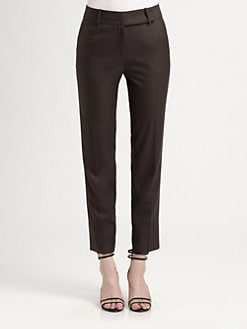 Halston Heritage - Skinny Ankle Pants