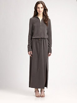 Halston Heritage - Silk Maxi Dress