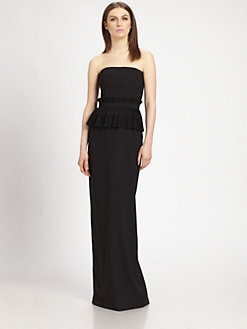 Raoul - Carmen Peplum Gown