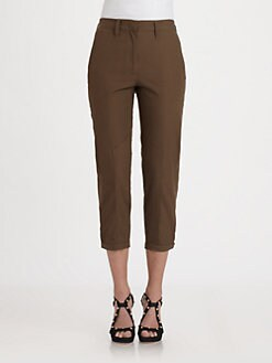 Halston Heritage - Jodphur Ankle Pants
