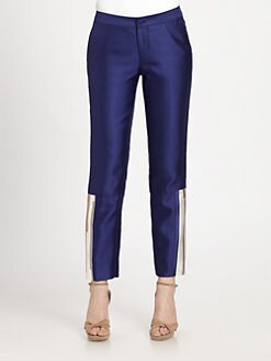 Raoul - Paneled Slim-Leg Pants