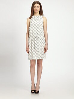 Raoul - Silk Jackie Drawstring Dress