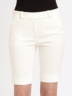 Halston Heritage - Straight-Leg Bermuda Shorts