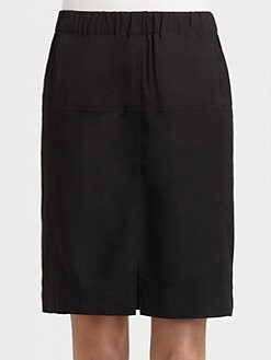 Halston Heritage - Woven Pencil Skirt