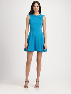 Halston Heritage - Ponté Knit Dress