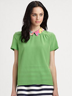 Kate Spade New York - Tessa Silk Top