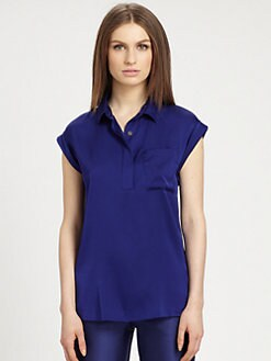Raoul - Stretch-Silk Blouse