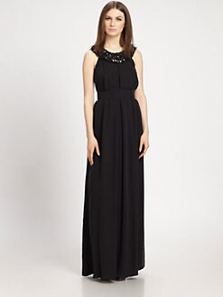 Raoul - Silk Velda Gown