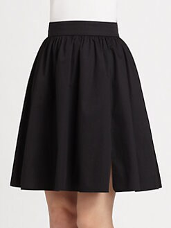 PAULE KA - Pleated Full Skirt