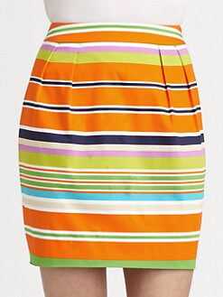 Kate Spade New York - Barry Striped Skirt