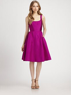 Kate Spade New York - Landry Silk/Cotton Dress