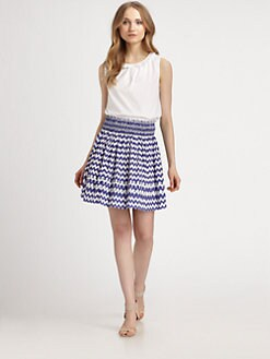 Kate Spade New York - Estella Ruffle-Trimmed Top
