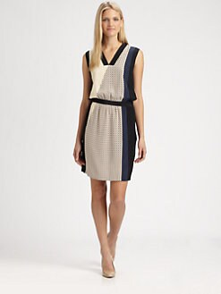 Raoul - Silk Sleeveless Dress