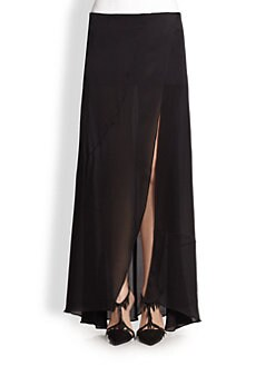 Narciso Rodriguez - Silk Satin Maxi Skirt
