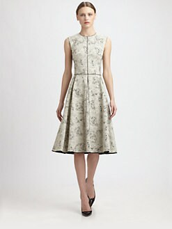 Narciso Rodriguez - Cotton Jacquard Dress