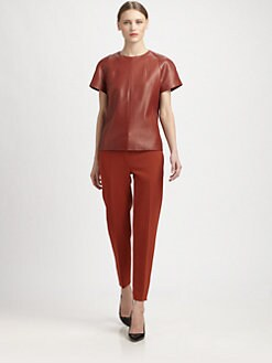 Narciso Rodriguez - Leather Tee