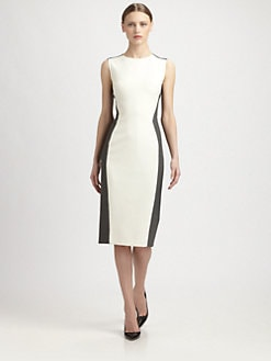 Narciso Rodriguez - Piqu&eacute; Stretch Dress