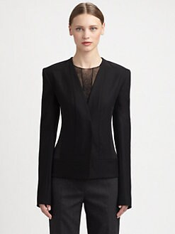 Narciso Rodriguez - Wool & Angora Jacket