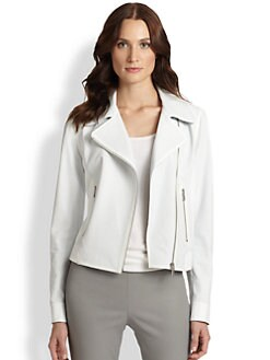 Elie Tahari - Leather Mae Jacket