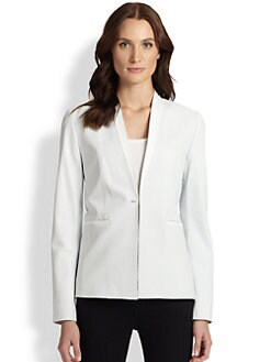 Elie Tahari - Leather Darcy Jacket