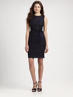Elie Tahari - Belted Emory Dress