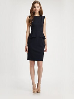 Elie Tahari - Maura Peplum Dress