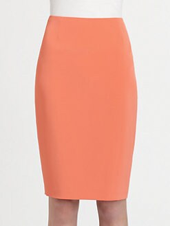 Elie Tahari - Crepe Pencil Skirt