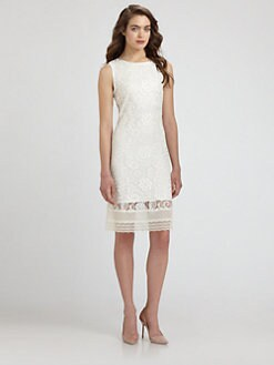 Elie Tahari - Jette Lace Dress