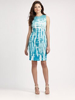 Elie Tahari - Printed Emory Dress