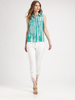 Elie Tahari - Silk Bella Sleeveless Blouse