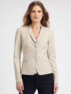 Elie Tahari - Ava Striped Blazer